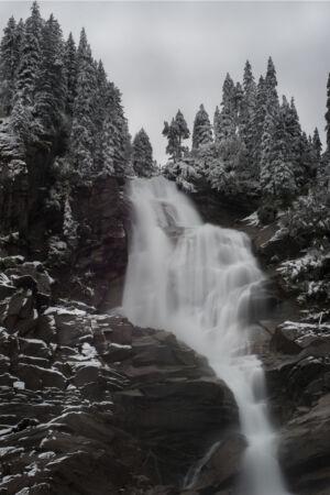Waterfall of Krimmler (top part)
